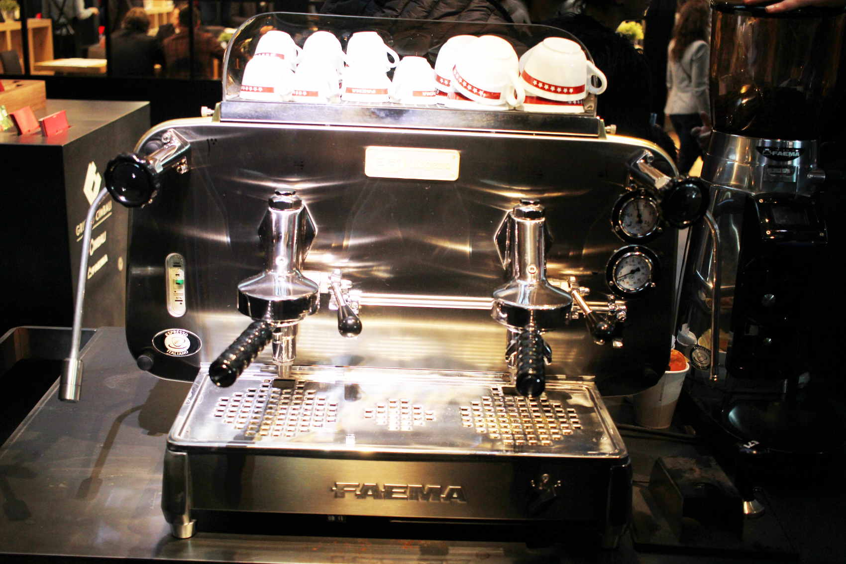 E61 faema legend home barista